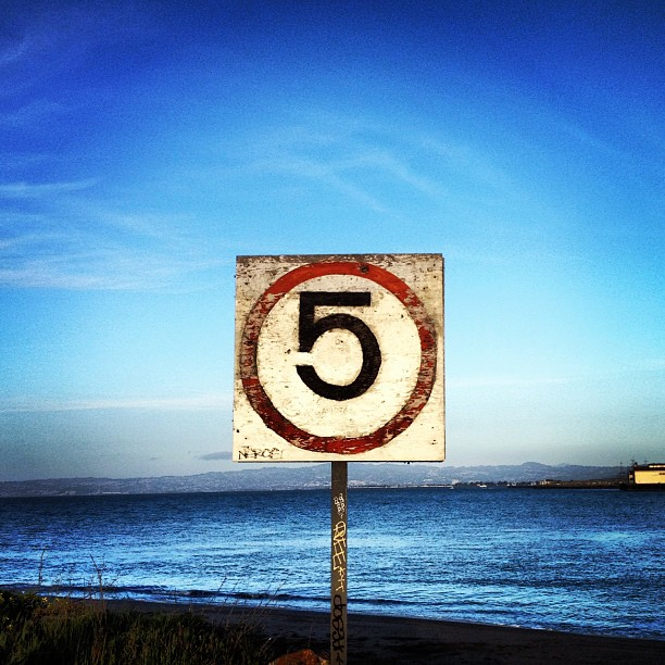 5 (Taken with  Instagram  at The San Francisco Bay)