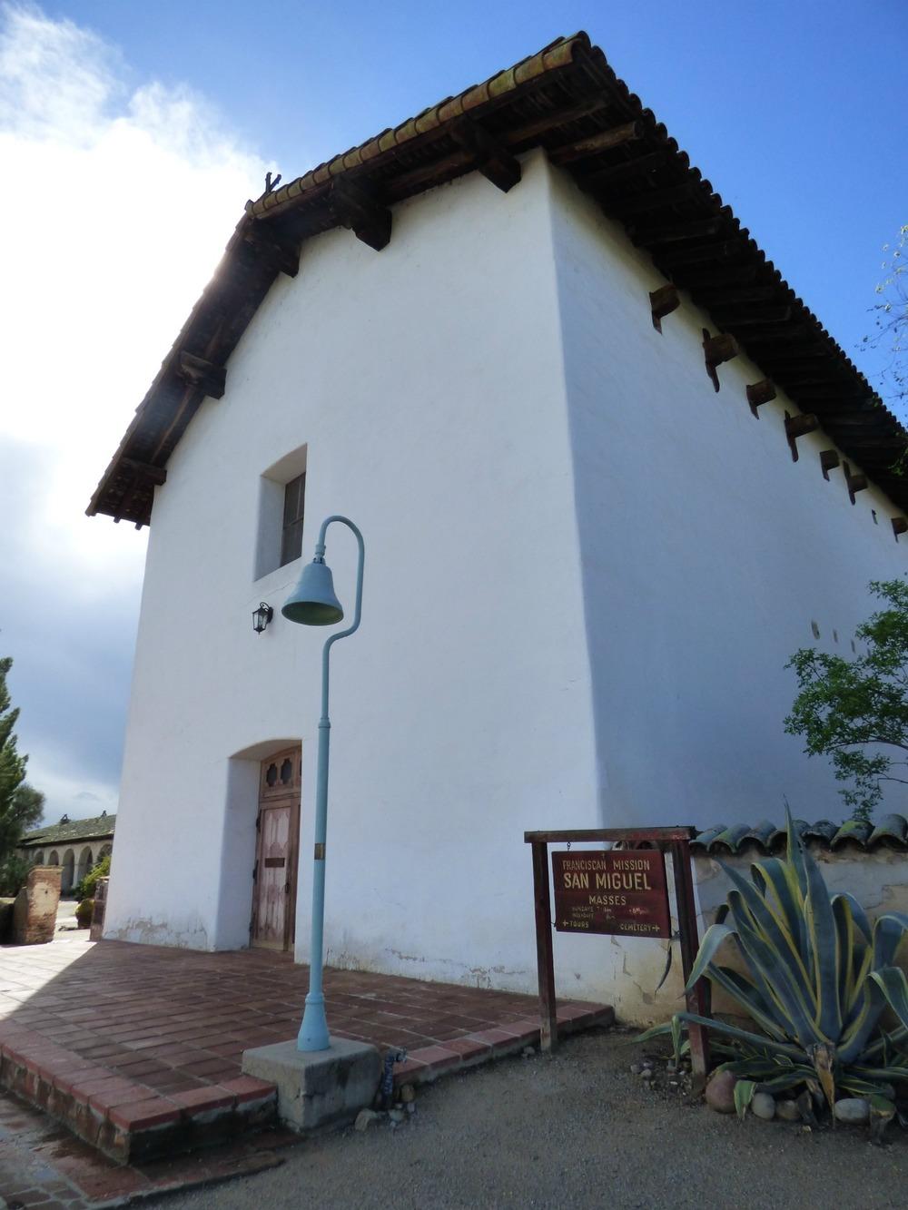 El Camino Realin varrella on muistuttavat historiasta