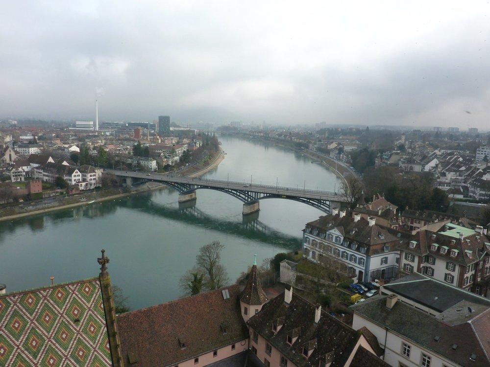 Maisemat ylhäältä - Basel Minster