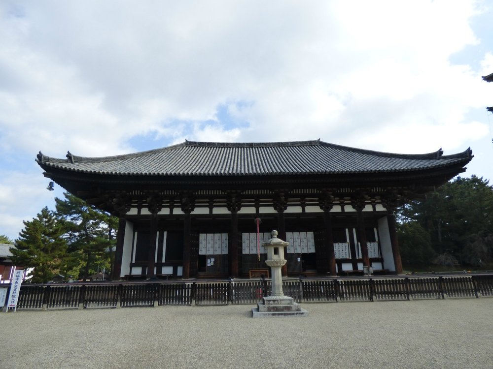 The five storey pagoda is a symbol of Nara, and is right next to the Kohfuku-ji Temple. It was rebuilt in 1426 after it burned down several times.