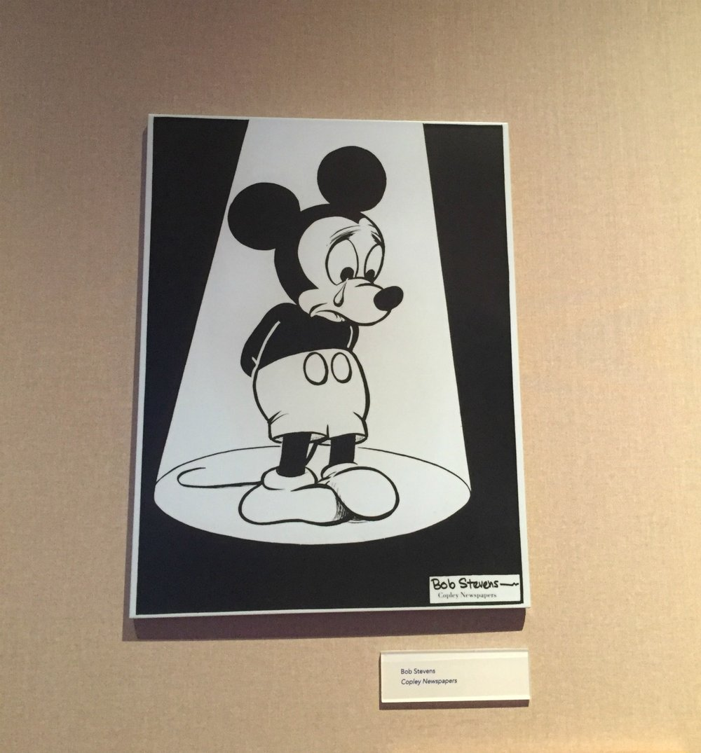 Mickey Mouse after Walt Disney's death