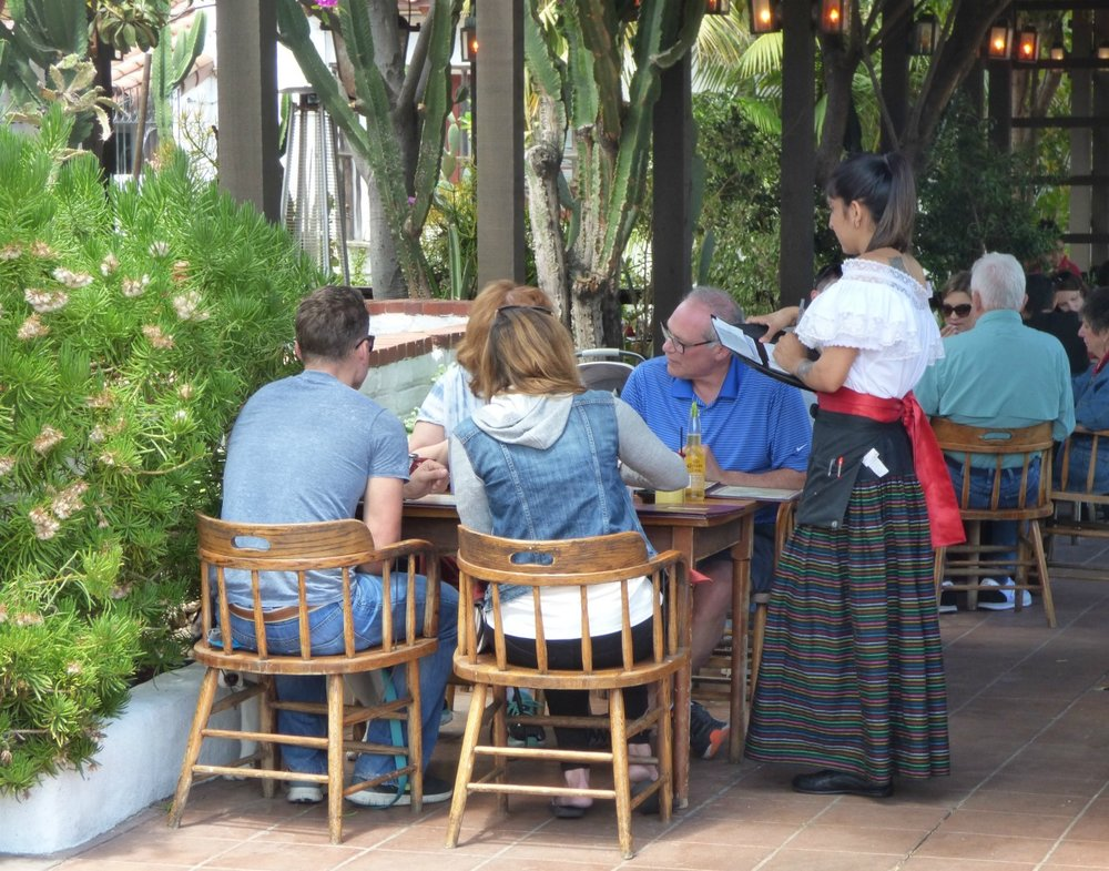 In Old Town San Diego you can get the feel of old Mexico and eat some Mexican food.