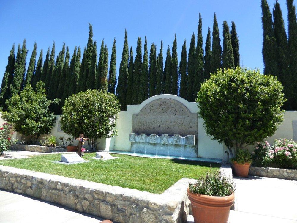 The grave site