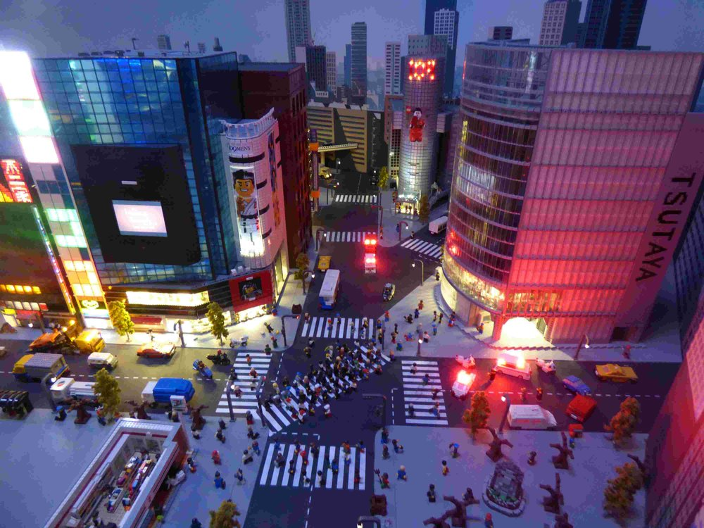 Shibuya Crossing  which we saw just few days before.