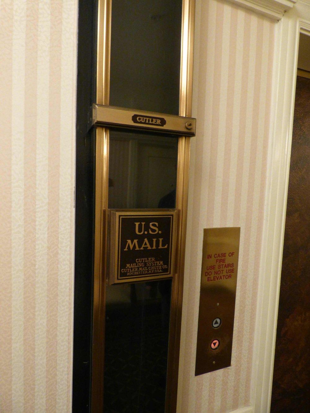 Postiluukku 6:ssa kerroksessa