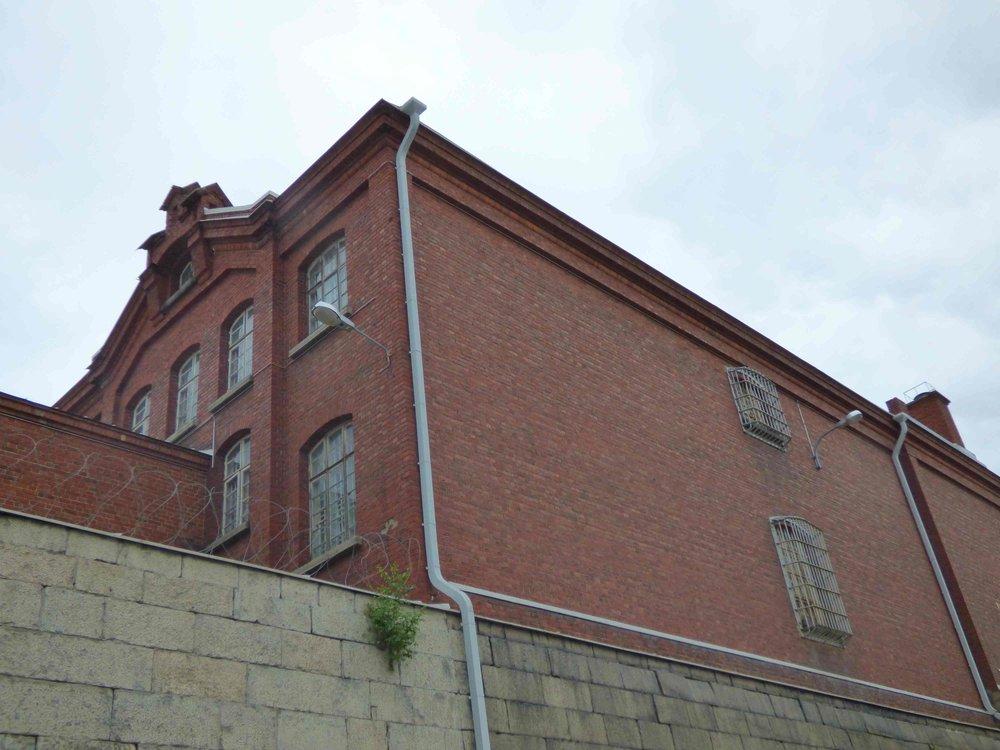 Kakolan vankilan rakennuksia