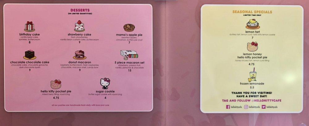 5 macaron leivosta $15, siis hello Hello Kitty!