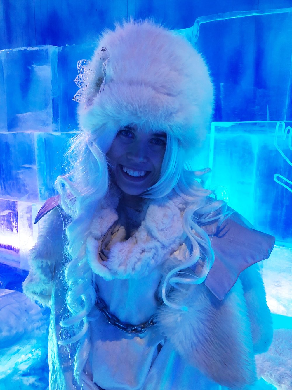 The Ice Princess…