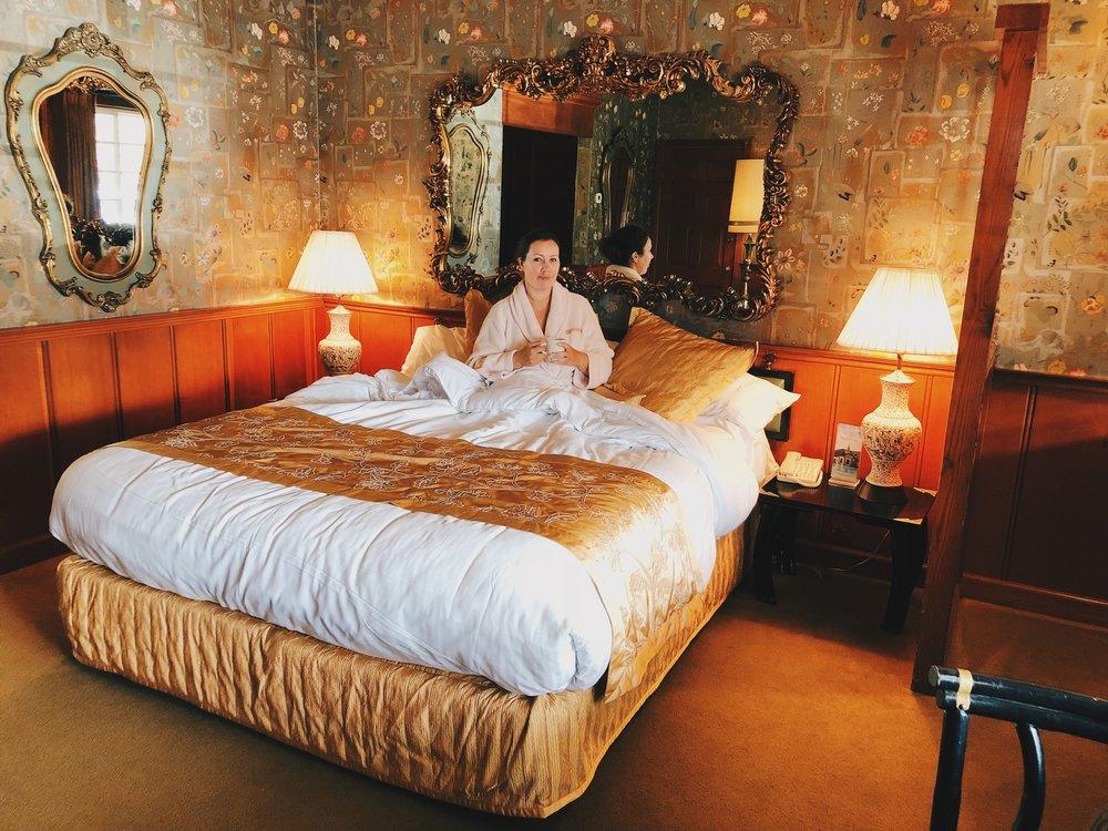 Huoneemme Madonna Innissä oli nimeltään China Flower
