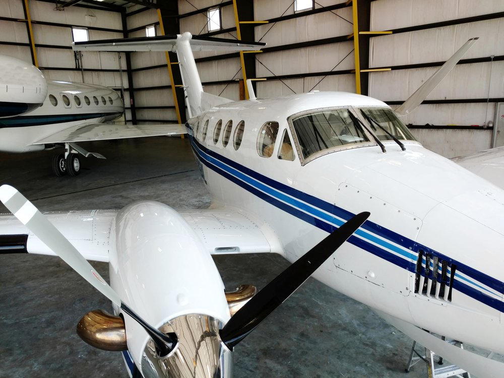 KING AIR AFTER RESTORATION