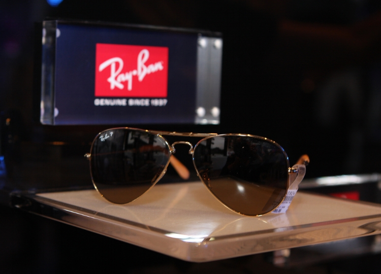 Ray-Ban, one of Luxottica's companies. Credit: Eva Rinaldi, Flickr