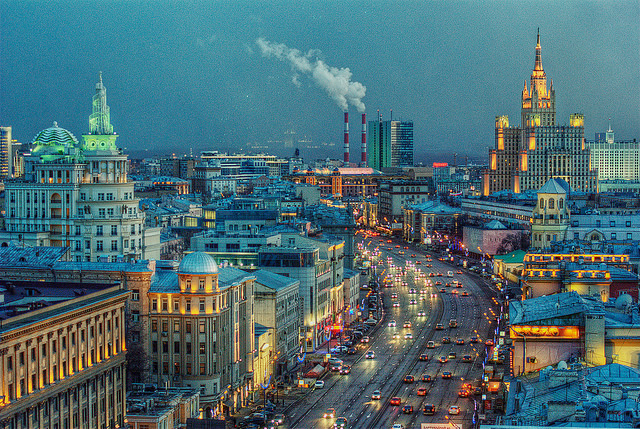 Moscow, Credit: Oscar W. Rasson, Flickr.