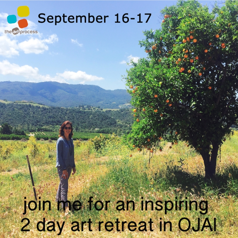 STILL A COUPLE OF SPOTS LEFT ON THIS ART RETREAT http://bit.ly/OjaiRetreat916
