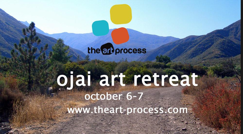 Ojai art retreat Oct 6-7
