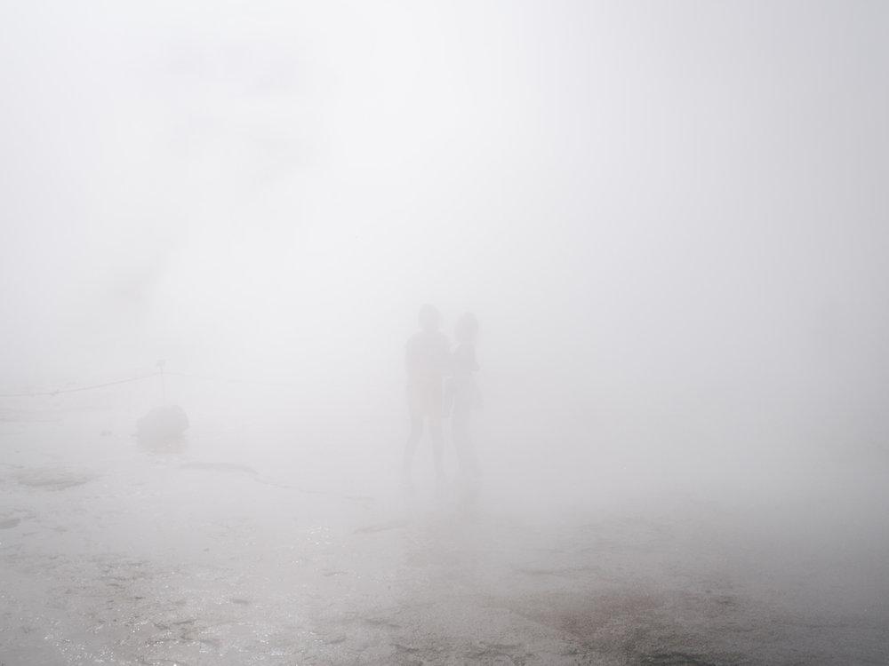 Hot Spring Mist  The Great Geyser, Iceland |7.1.16|