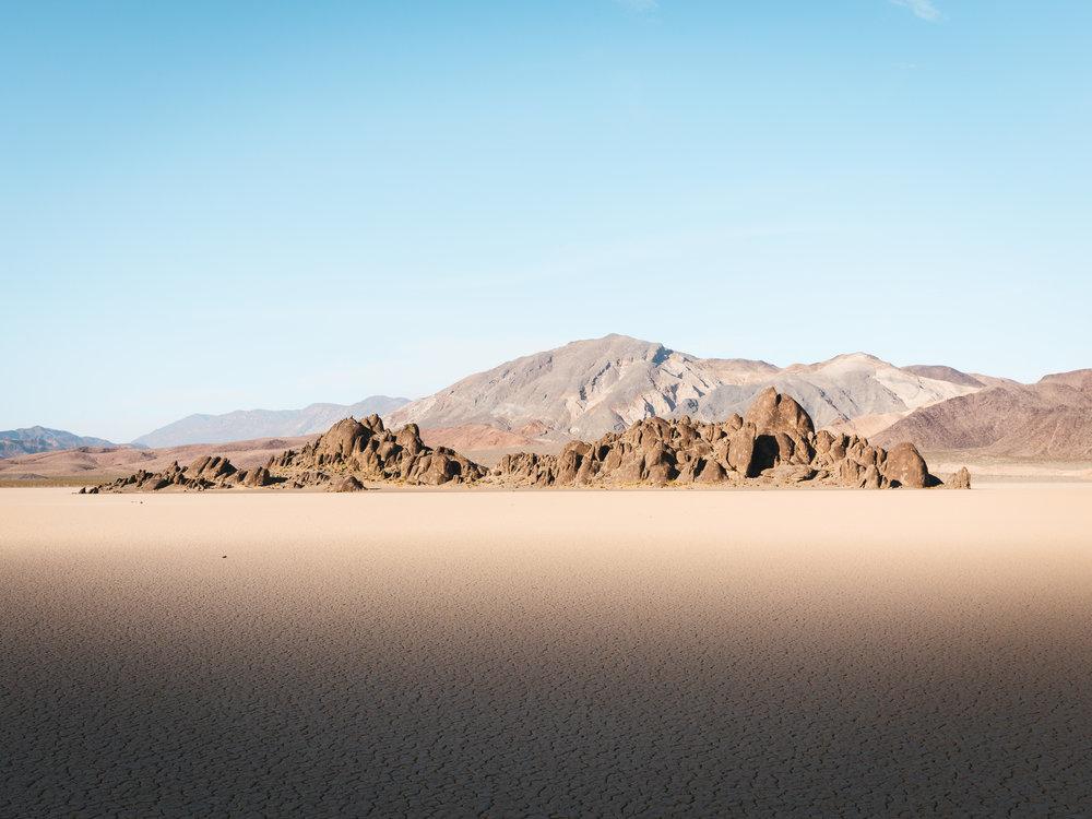 The Devil's Racetrack   4.18.18  Death Valley, California