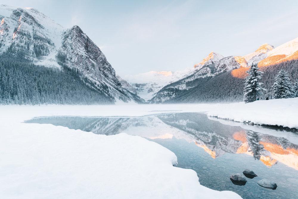 Lake Louise  |1.21.17| Banff National Park, Alberta