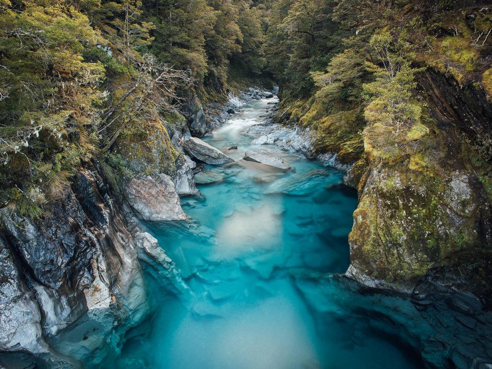 The Blue Pools  |9.3.17| Mt. Aspiring National Park, New Zealand
