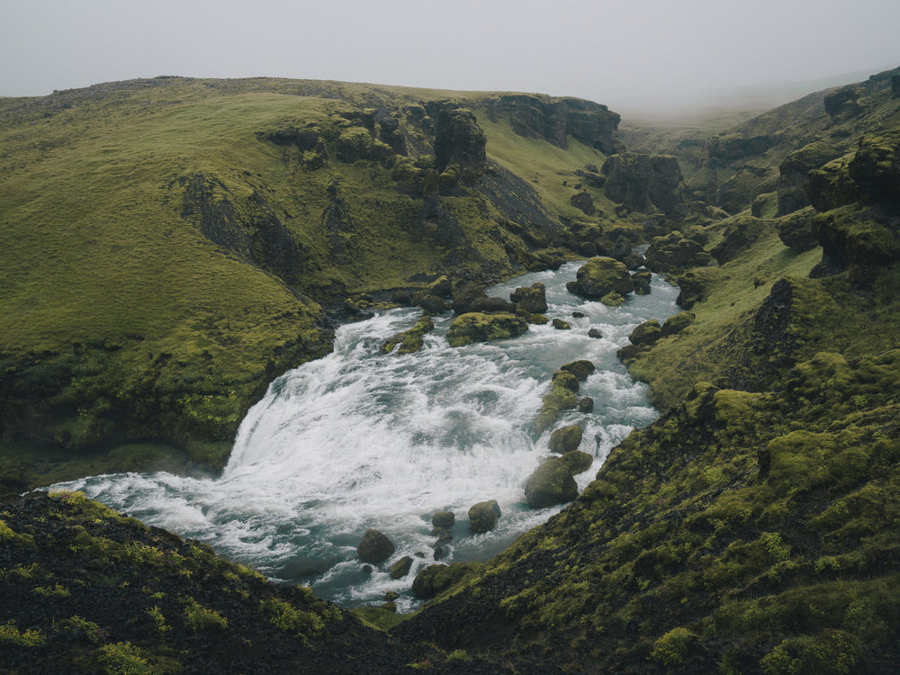 Flow  |7.23.16| Skogafoss, Iceland