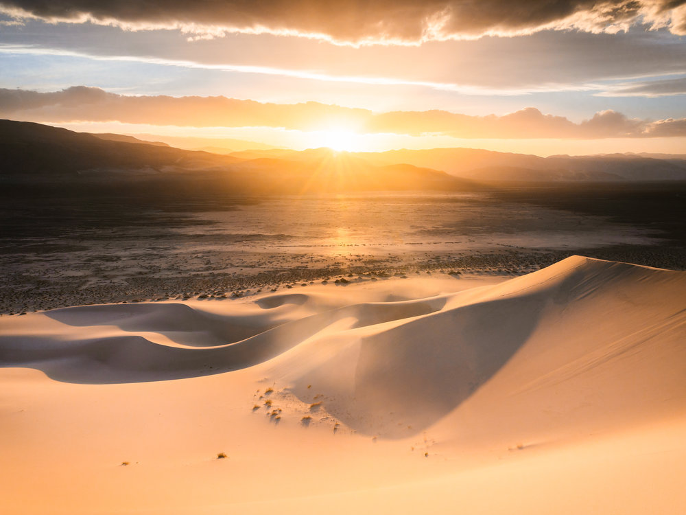 Eureka Sunset   4.18.18  Death Valley, California