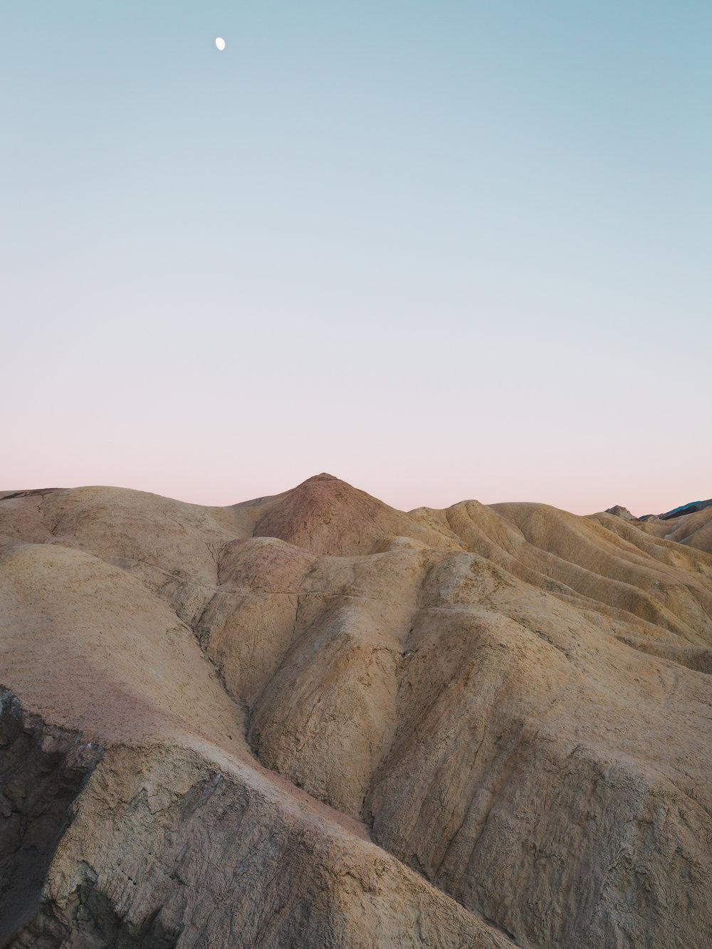 Zabriskie at Dusk   11.21.15  Death Valley, California