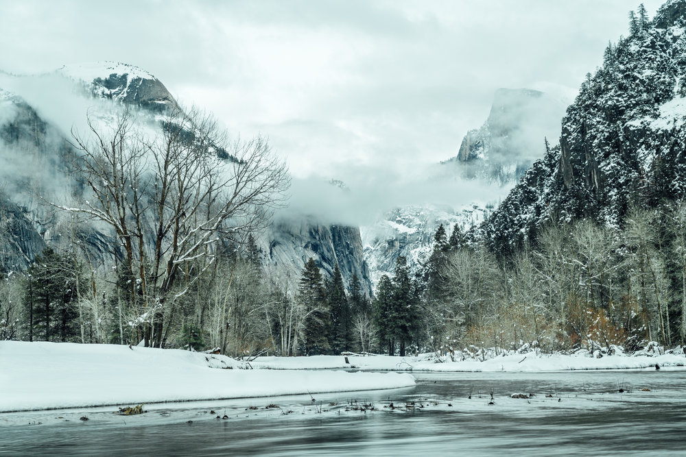 Winter in the Valley  |1.11.16| Yosemite National PArk, California
