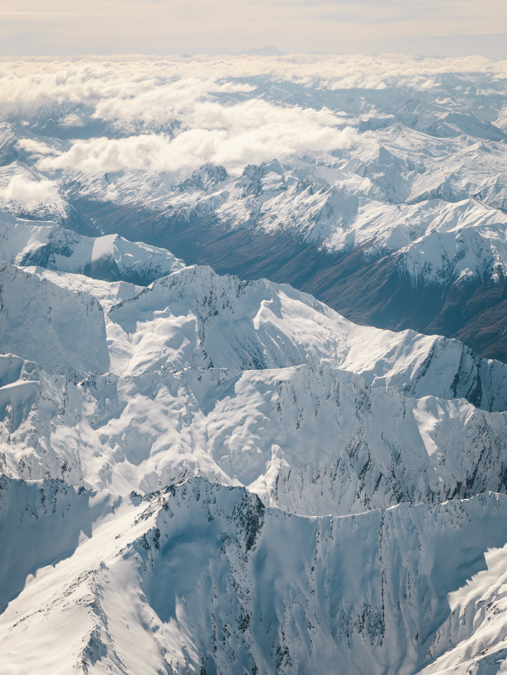 Winter From Above  |9.1.17| South Island, New Zealand