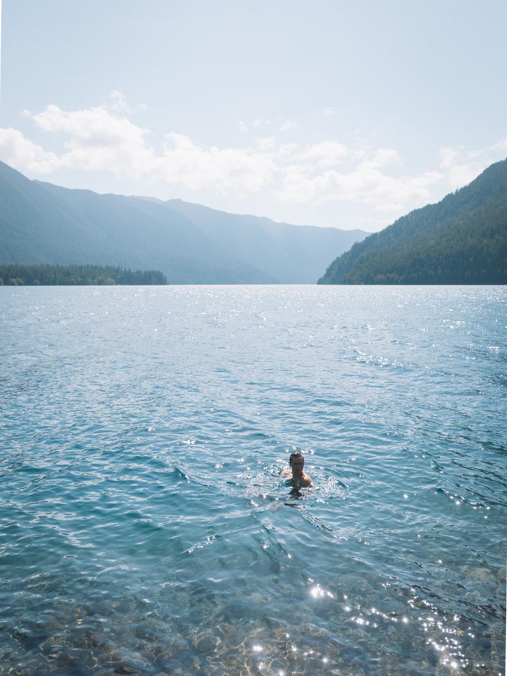 Taking a Dip  |7.1.17| Olympic National Park, Washington