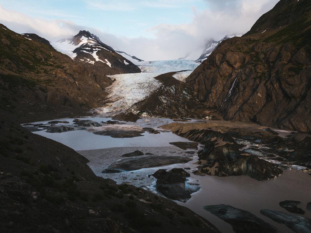 The Grenwick Glacier  Katchemak Bay State Park, Alaska |08.20.18|