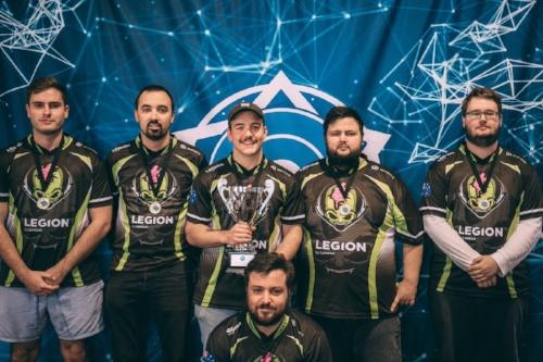 CGPL Spring 2017 Champions           L - R: Zewsy, Yam, Chuch, ap0c, Ofnu, Ferg (crouched)