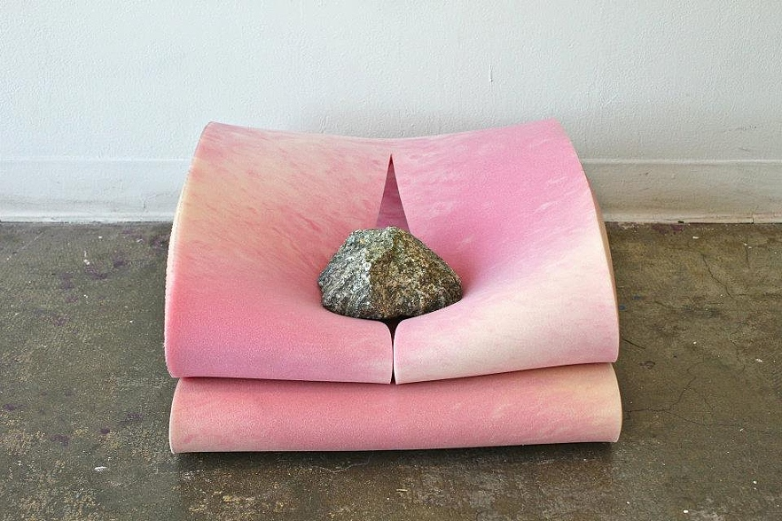 """UNTITLED"", rock & foam, 2012"