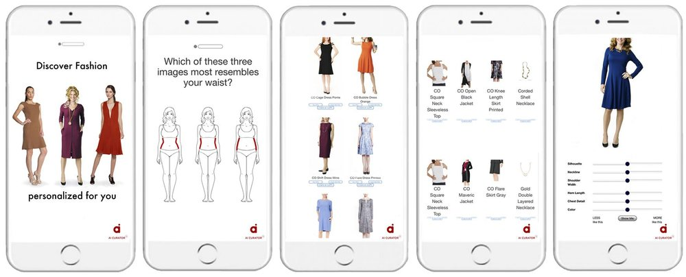 The Savitude AI Curator personalizes the discovery of fashion giving guests a better shopping experience and increases loyalty. Retailers benefit from increased engagement and conversion.