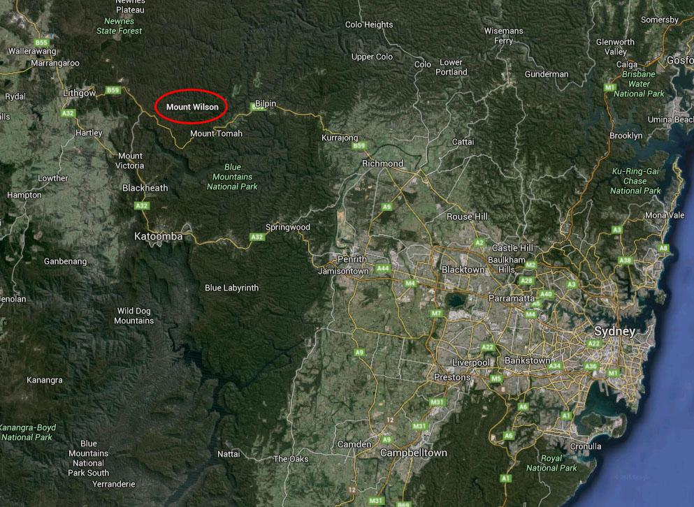 Mt Wilson Map (Far)