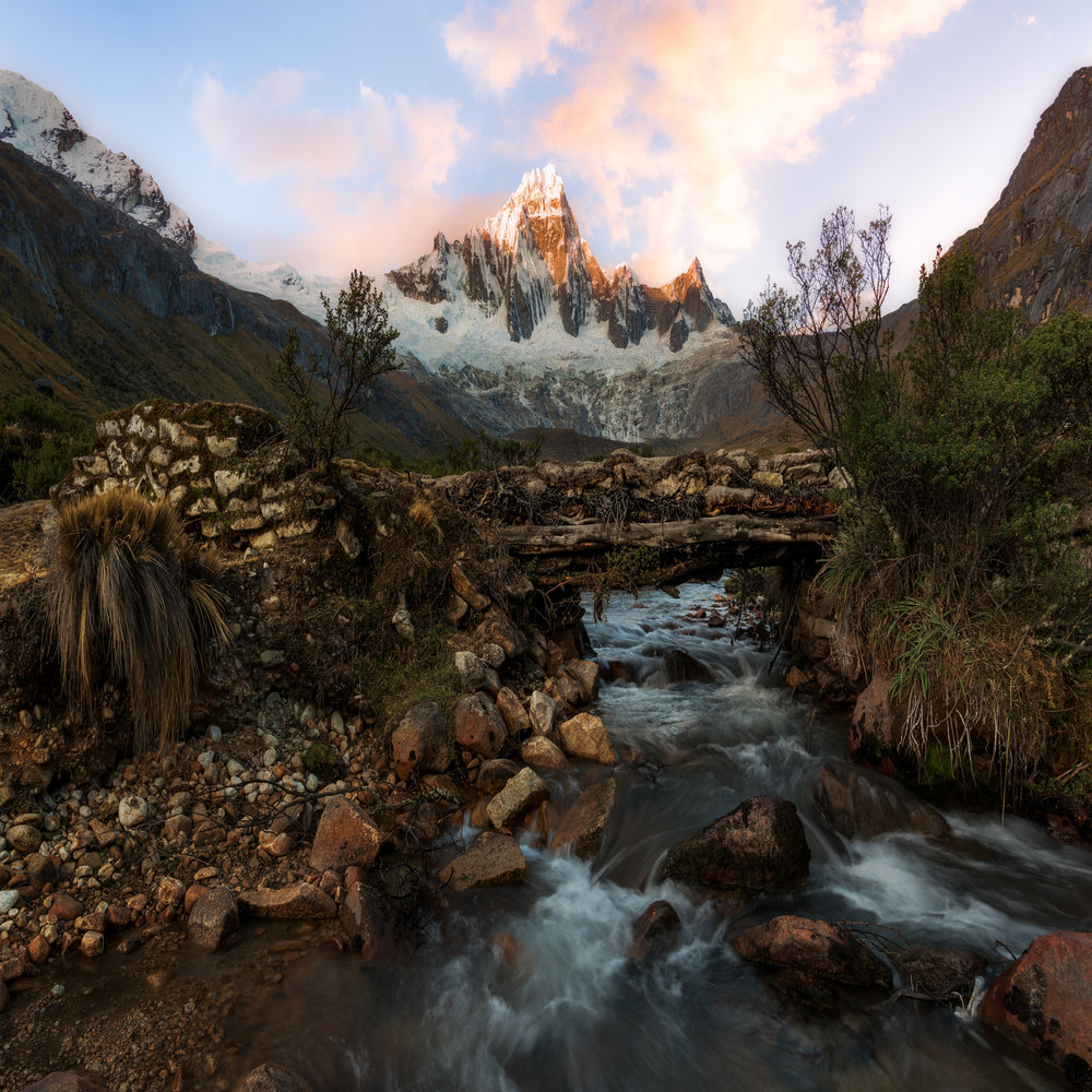 1st Place Sunrise/Sunset Category - Taulliraju on the Santa Cruz Trek (Huaraz, Peru)