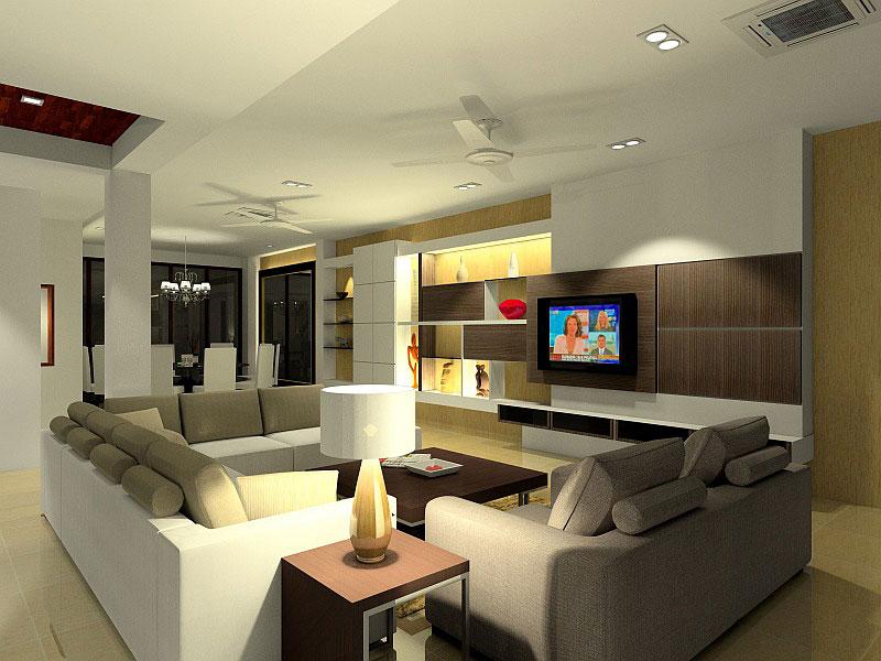 Interior Design Living Room 3D 1