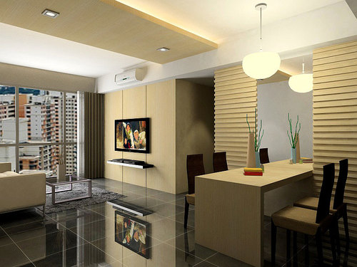 Interior Design Living Room 3D 2