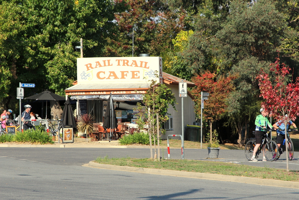 Rail Trail Cafe, Porepunkah