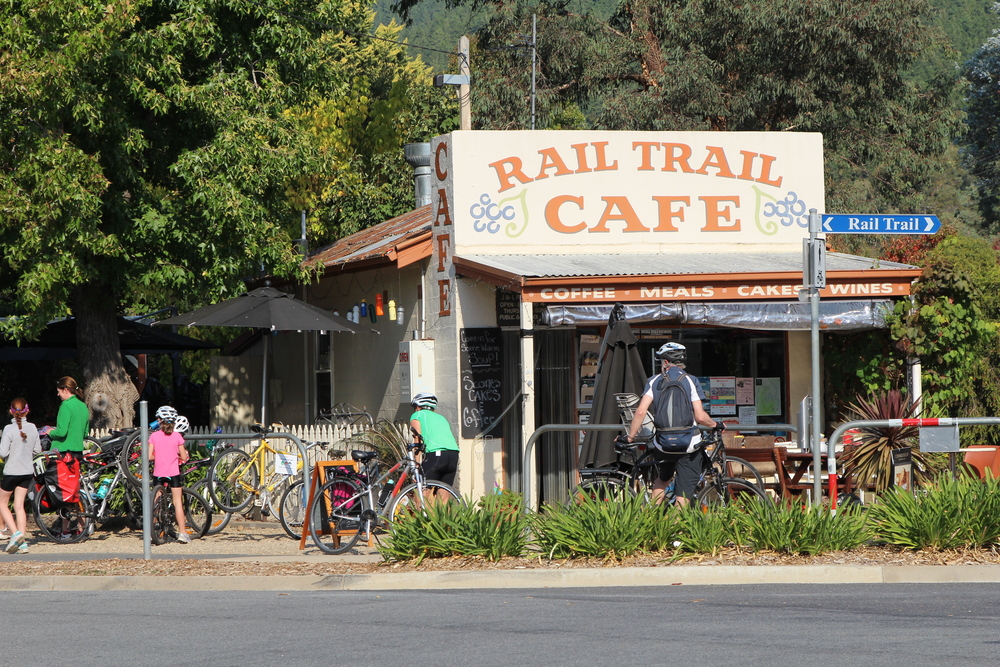 The Rail Trail Cafe, Porepunkah