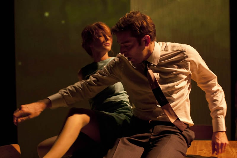 Leanne Rowe (Magaret) and Edward Bennett (William) 2 in Frantic Assembly's Lovesong (Credit - Johan Persson).jpg