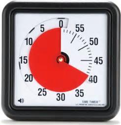 Time Timer für das Time Boxing