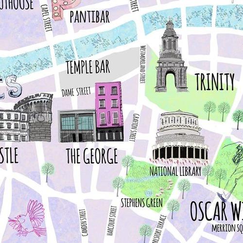 Failte Ireland | Visit Dublin Illustration