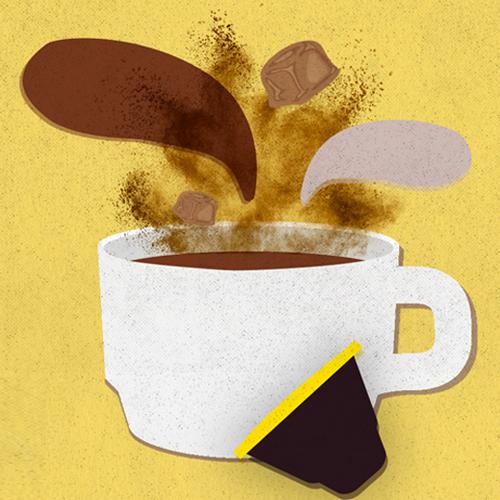 Cafe Direct Illustration | Art Direction