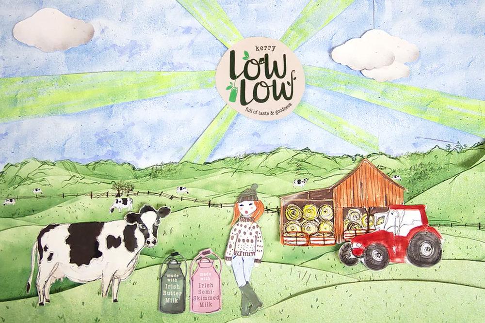 Kerry Foods  Animation + Art Direction + Illustration