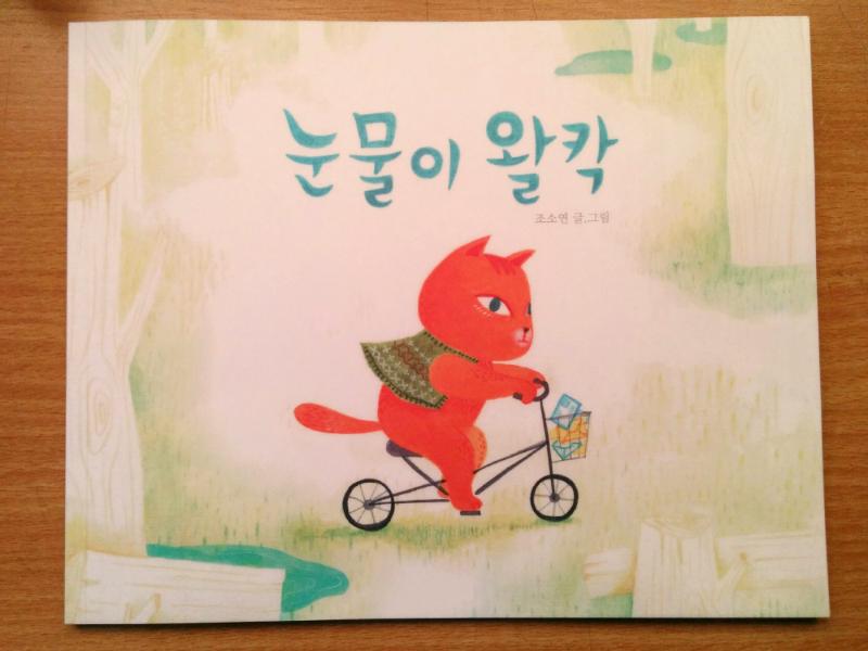 < 눈물이 왈칵 >   그림책