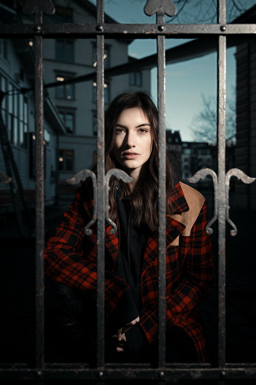 Ronja Furrer, Model