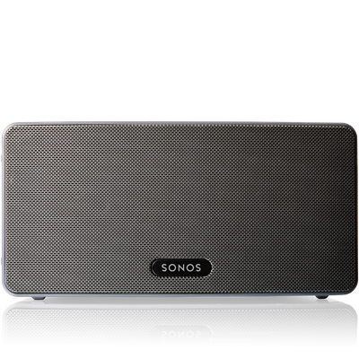 Sonos Play 3 $379 each Bigger than the PLAY:1, this wireless speaker delivers immersive HiFi sound, deeper bass and room-filling power.