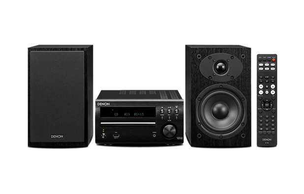Denon DM-40S Reg: $649 Sale: $629 The new D-M40 features serious Hi-Fi quality CD Receiver RCD-M40 along with optimized two-way speaker system SC-M40. For almost 20 years now, Denon's M Series has been developed to meet the needs of modern day audio enthusiast that want a micro size stereo system but with the least compromises on sound and build quality.