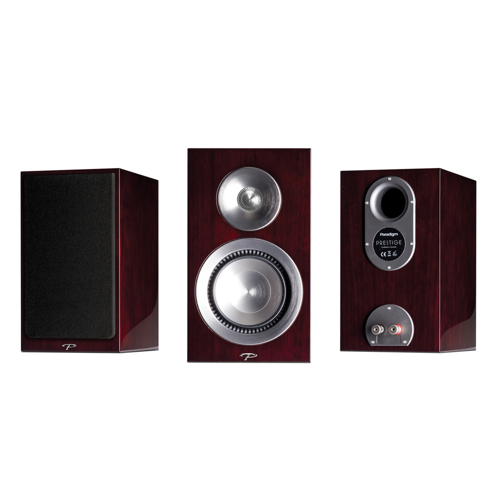 Paradigm Prestige SB15 $1698/pair       Prestige 15B bookshelf speakers utilize 2-way crossover technology to greatly improve off-axis performance (for listeners not positioned directly in front of the sweet spot) and boost deep bass dynamics.