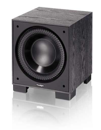 Paradigm Monitor Sub 10 Reg: $1160      Sale: $1049 A compact footprint without compromising bass output or bass extension. Trickle-down Paradigm Reference technology … despite cone size, the NLC™ non-limiting corrugated Santoprene® surrounds help cones move huge volumes of air for bass so loud and so deep it will send the cat running for cover. State-of-the-art room-tuning technology. Don't worry about perfect placement, put the sub where it looks best and let Paradigm's Perfect Bass Kit™ (sold separately) dial in perfect bass.