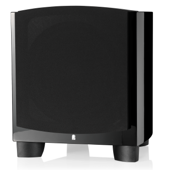 Revel B110 $3079 The B110 subwoofer uses an exclusive 10-inch low-frequency transducer designed to produce very low frequencies at extremely high sound-pressure levels while, at the same time, maintaining extremely low distortion